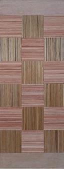 Porta maciça de madeira