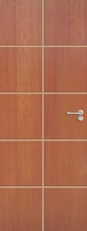 Porta Frisada madeira